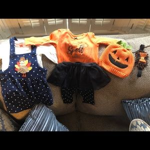 Carters 6 Month Fall Holiday's Lot